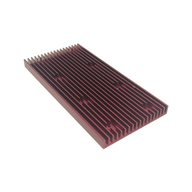 heatsink with drilling holes