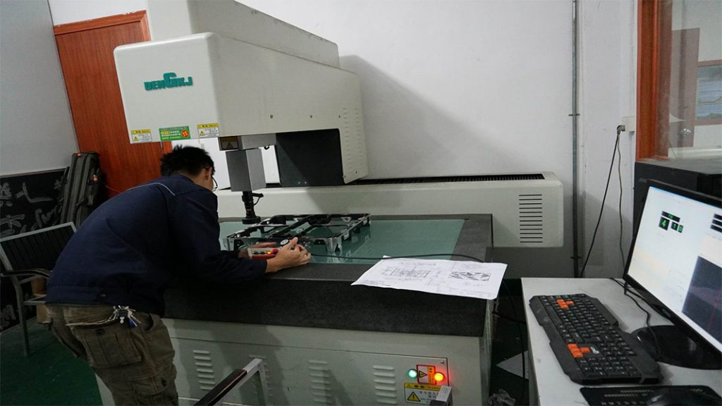 CNC machining quality control